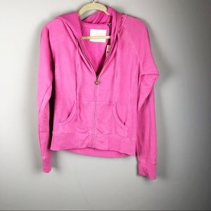 Victoria's Secret ANGEL write out pink hoodie